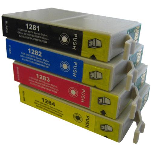 Συμβατό μελανοδοχείο EPSON compatible cartridge T1284 YELLOW