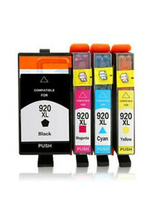Συμβατό μελανοδοχείο HP compatible cartridge 920XL YELLOW